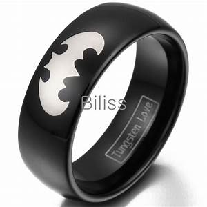 batman wedding band cool wedding bands With batman 3 piece wedding ring set