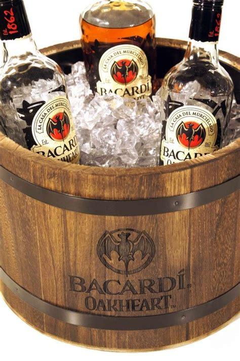 Home Bar Merchandise by Bacardi Rum Merchandise Bacardi Oakheart Eisbox
