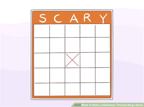 How To Make A Halloween Themed Bingo Game 6 Steps (with
