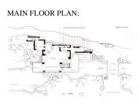 open house plan casestudy of falling water