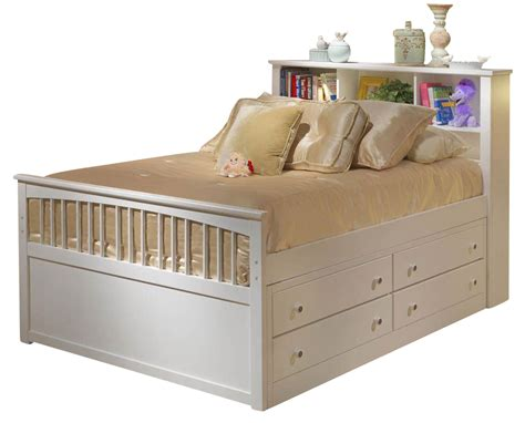 classic bayfront full captains storage bed