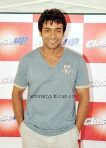 Actor Surya Brand Ambassador For Close Up Tooth Paste