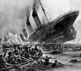 The Titanic Sinking Date by File Titanic Sinking Painting By Willy St 246 Wer Jpg