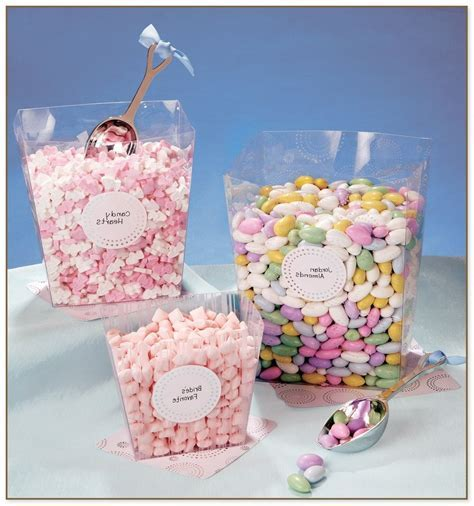 Plastic Candy Jars For Candy Buffet