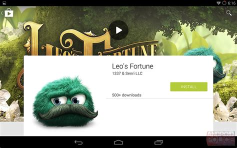 android  google play store leaked shots show artistically