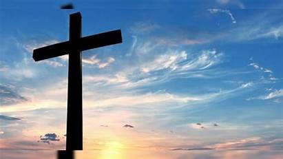 Cross Christian Easter Background Sky Religion Christians