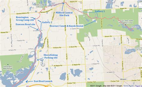 Proud Lake State Recreation Area - Kensington Metro Park ...