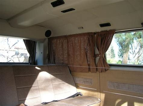 adding curtains    camper vanagon vanagon hacks