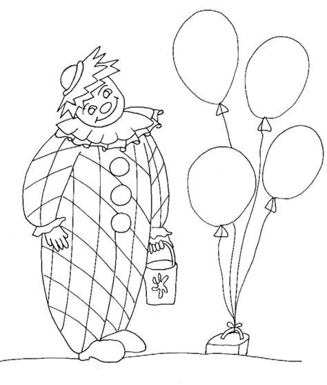 cose da stare disegno di clown da colorare cose per crescere