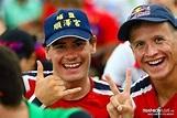 頭戴「埔鹽順澤宮」帽子!挪威選手三鐵奪冠…本人回應了「它很神祕」 | ETtoday星光雲 | ETtoday新聞雲