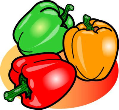 bell pepper clipart image peppers food clip christart