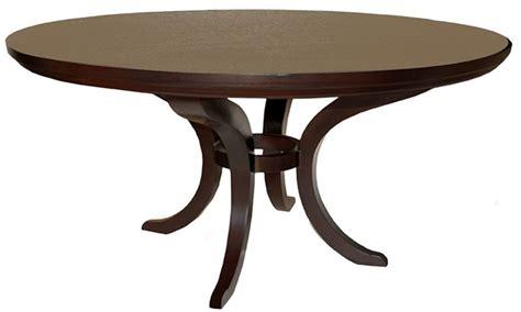 single leg dining table plush home oxford single pedestal dining table