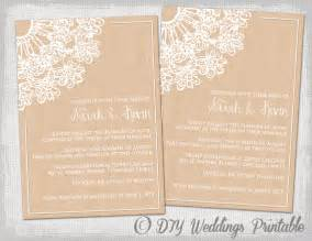 wedding program sle template country wedding invite templates wedding invitation ideas