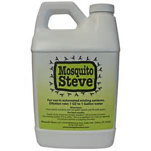 Mosquito Steve All Natural Mosquito Repellent Misting Concentrate 52 oz