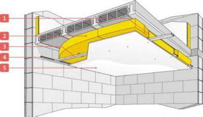 isolation du plafond sous un plancher b 233 ton