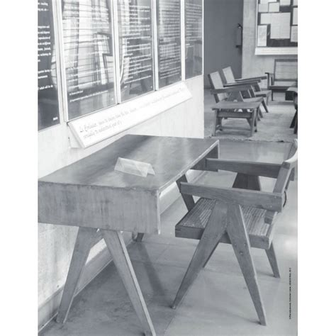 bureau le corbusier bureau en teck chandigarh design