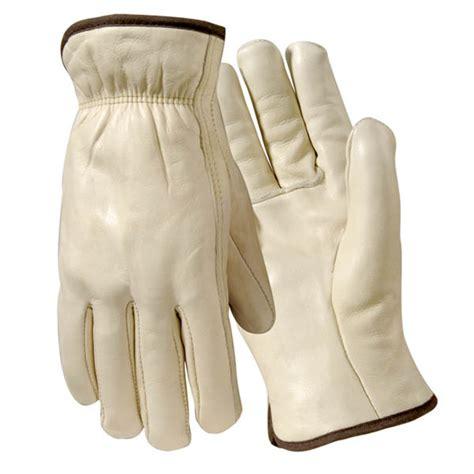Lamont Gloves Cowhide by Lamont Premium Grain Cowhide Drivers Gloves