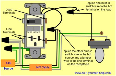 electrical how do i wire a gfci switch combo home