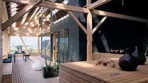 Renovation Hangar En Habitation : id es am nagement grange ~ Nature-et-papiers.com Idées de Décoration