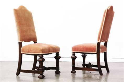 high back mahogany dining chairs vintage supply