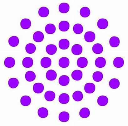 Clipart Circle Dots Pattern Purple Dot Clip