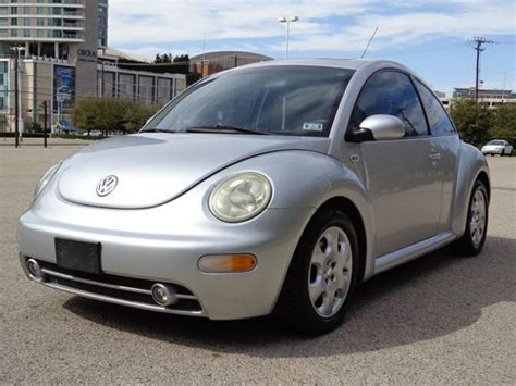 where to buy car manuals 2002 volkswagen new beetle engine control purchase used 2002 silver vw beetle tdi manual transmission low miles clear title clean inside
