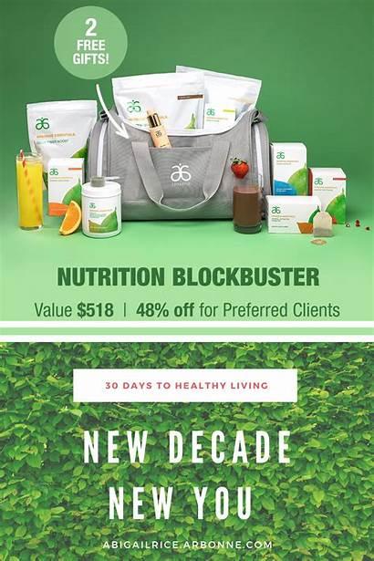 Arbonne Kit Nutrition Healthy Goals Fitness Skincare