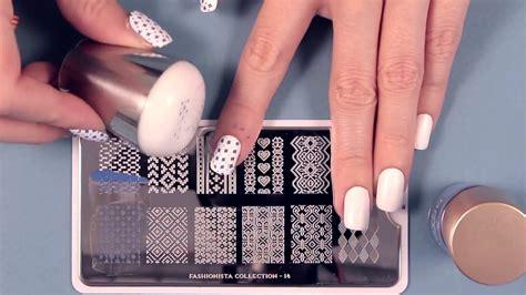 Moyou London Nail Art Stamping Tutorials Youtube