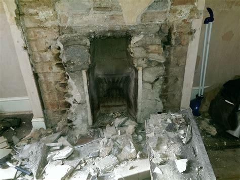 fitting   cast iron fireplace inserts gas work job