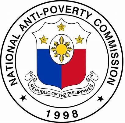 Poverty Anti Commission National Philippines Seal Clipart