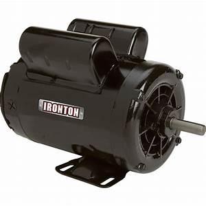 Ironton Compressor 230 Volts  Single Phase  Model