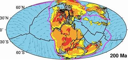 Pangea Earth Ago Continent Before Split Million