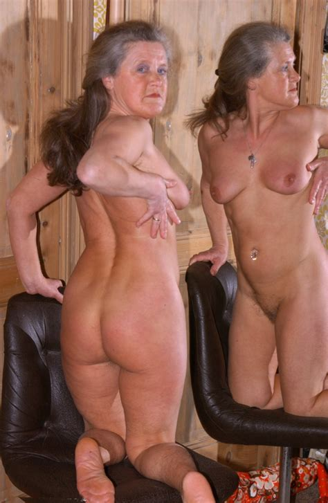 Grannies Posing Fully Naked Without Shame