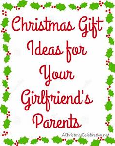 Christmas Gift Ideas For Your Girlfriend's Parents
