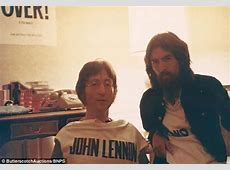 Unseen photos of John Lennon and George Harrison Daily