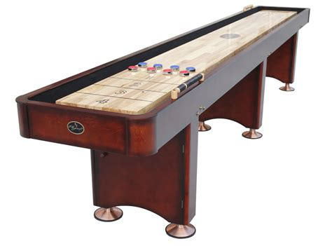 a shuffleboard table georgetown shuffle board tables featured brand of the 7337
