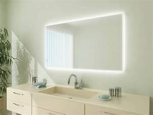 Bad Spiegelschränke Mit Beleuchtung : badspiegel mit led beleuchtung apollo ~ Michelbontemps.com Haus und Dekorationen