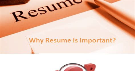 avigna learning academy why resume is so important when