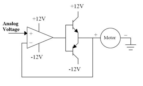 Linear Amplifier Motor Driver Northwestern Mechatronics Wiki