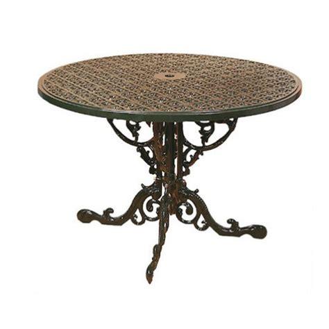 terrazzo in inglese base tavolo portico terrazzo giardino in fusione di