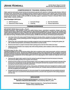 Training Consultant Cover Letter - oursearchworld.com