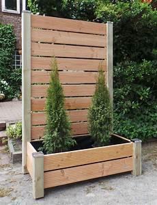 Sichtschutz Im Garten : mobiler sichtschutz mit pflanzkasten h190 blumenkasten ~ A.2002-acura-tl-radio.info Haus und Dekorationen