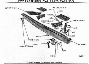 1966 Charger Body Diagrams