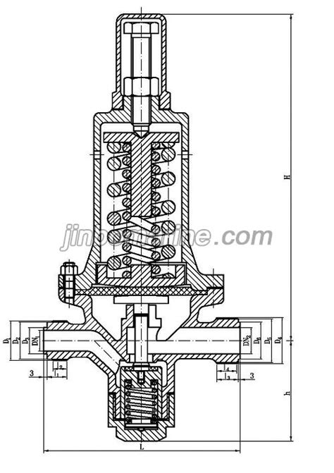 Marine Air Pressure Reducing Valve CB/T3656-94, Buy CB