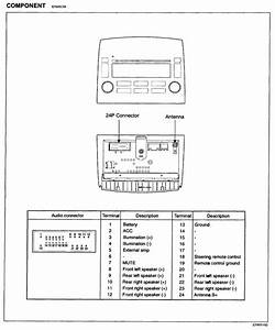 Radio Wire Diagram For Hyundai Elantra Gls 2013  Hyundai