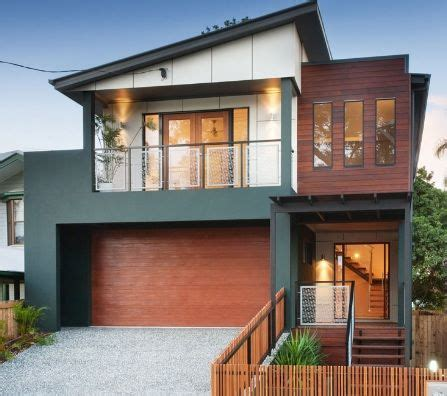 charcoal neutral beige  warm merbau timber exterior colour scheme