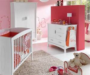Chambre bebe fille et lit photo 8 10 tres belle for Couleur chambre bebe fille