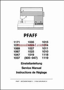 Pfaff 905