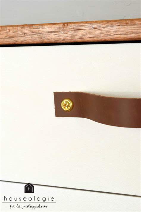 leather drawer pulls diy leather drawer pulls designer trapped in a lawyer s
