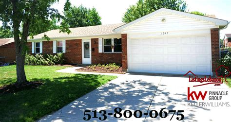 brick ranch with 2 car garage fenced yard for 125 000 in